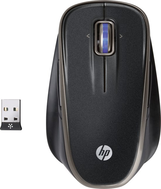 HP 2.4Ghz Wireless Laser Comfort Mouse Europe - English localization