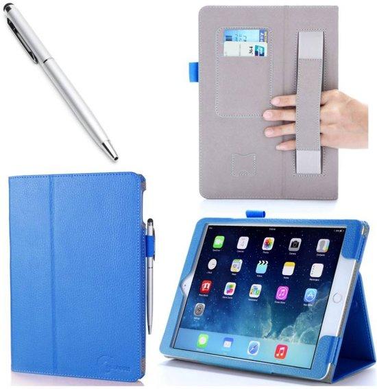i-Blason iPad Air 2 Leather Slim Book Case blauw in Smallebrugge / Smelbrêge