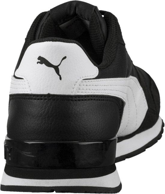 Puma Sneakers 42 Runner White Black St Maat Unisex Nl V2 qrFwS7qU