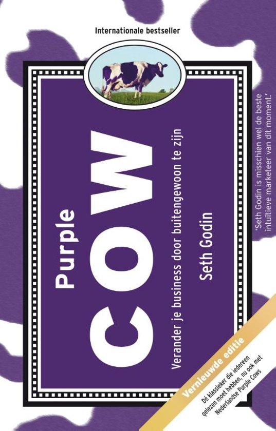 Boek cover Purple Cow van Seth Godin (Hardcover)