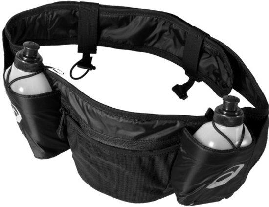 Asics runners waistbelt hardloopband zwart