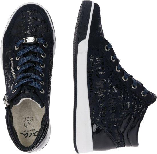 Ara Sneakers Hoog Rom Blauw-6,5 (40)