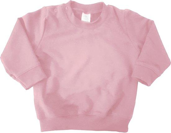 Licht Roze Trui.Bol Com Little Olivia Basic Sweater Trui Baby Maat 86 92