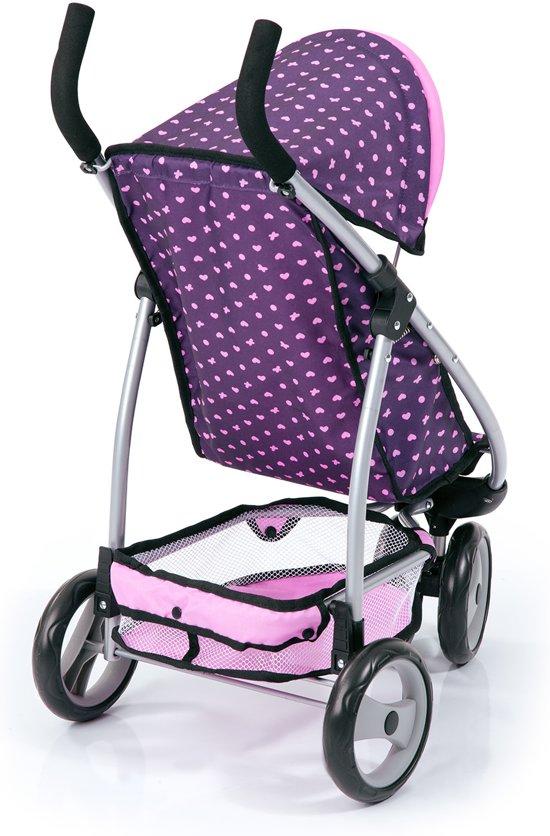 Bayer - Kinderwagen Sporty roze