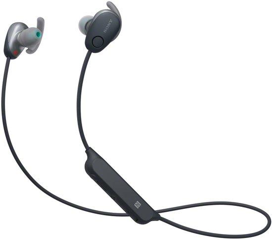 Sony WI-SP600N - Draadloze sportoordopjes met Noise Cancelling - Zwart