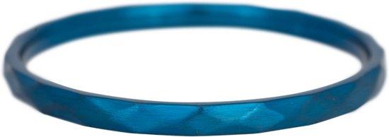 iXXXi Jewelry - Vulring - Blauw - Hammerite - 2mm