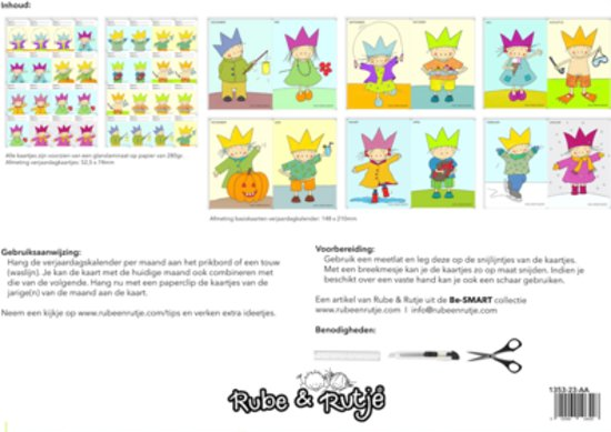 Afbeelding van het spel Rube & Rutje Verjaardagskalender