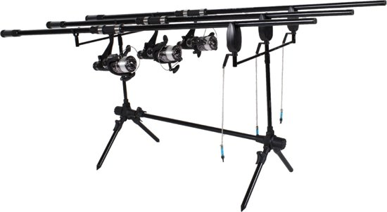 FISH-XPRO Carpset Pro Improve Set | 3-Rod | Karperhengelset