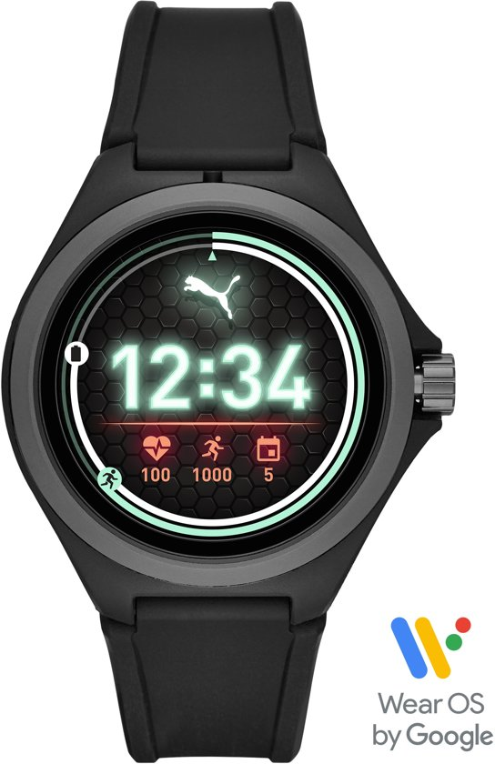 Puma Gen 4S Display Smartwatch PT9100 - Zwart