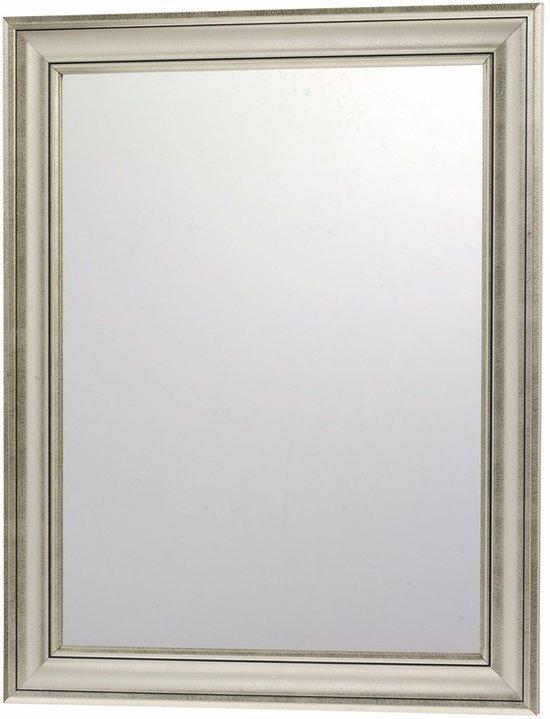 Wandspiegel Met Sierlijst.Bol Com Wandspiegel Met Zilveren Sierlijst 30 X 40 Cm
