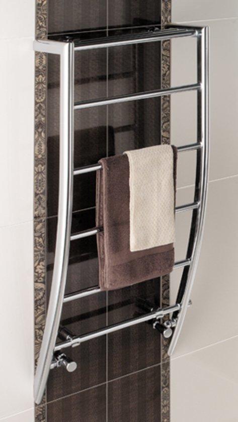 bol.com | Eastbrook Biava corinium chroom badkamer radiator