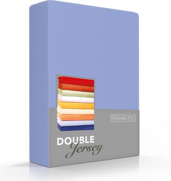 Comfortabele Dubbel Jersey Hoeslaken Lavendel | 150x200| Heerlijk Zacht | Extra Dikke Kwaliteit