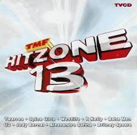 CD cover van TMF HITZONE 13 van various artists