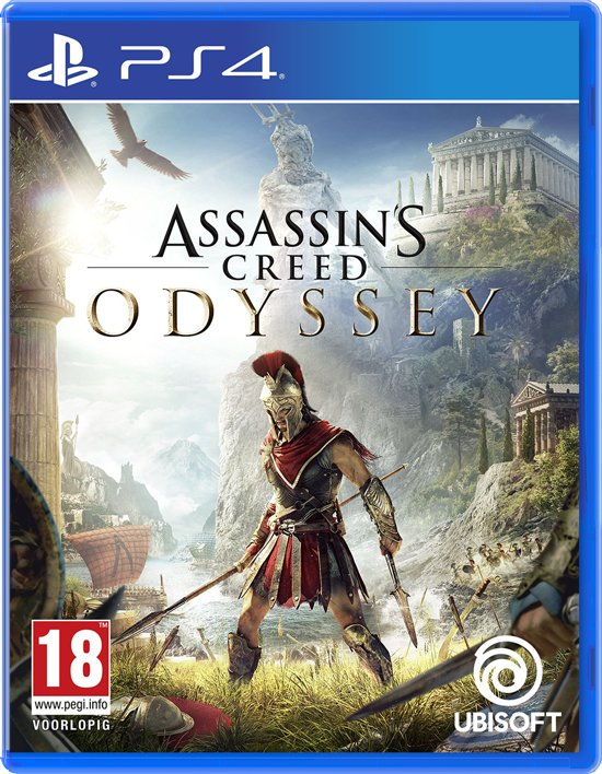 Cover van de game Assassins Creed: Odyssey - PS4