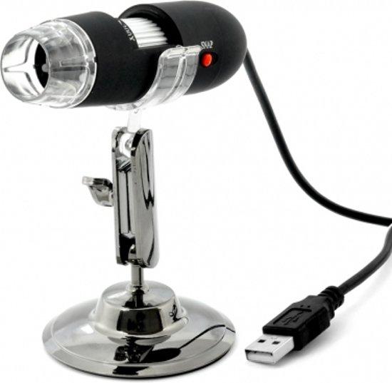 MobielCo Digitale Microscoop met USB 50x tot 1000x met 8x LED verlichting / Inclusief standaard