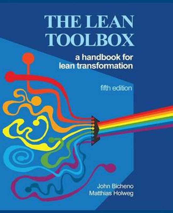 The Lean Toolbox 5th Edition - John R Bicheno