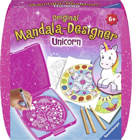 Ravensburger Mandala - Designer® Unicorn eenhoorn