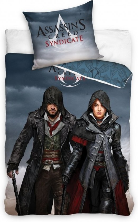 Dekbedovertrek Assassin's Creed Syndicate 160x200 cm