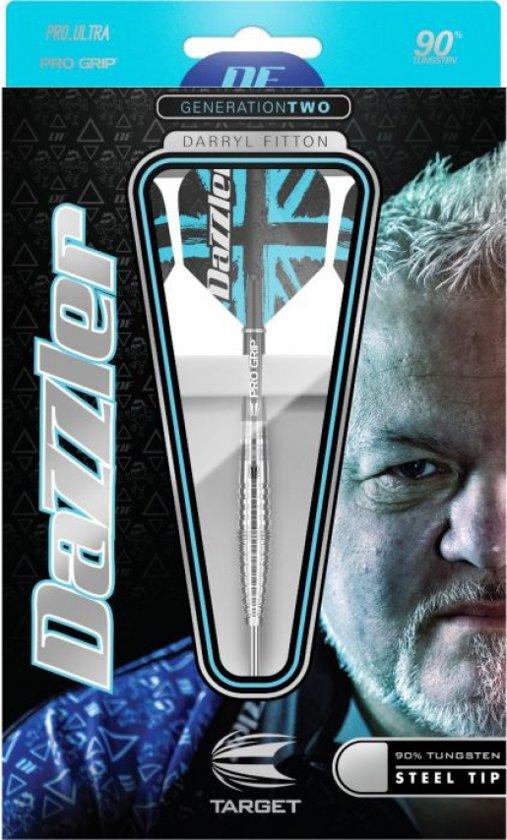Target Darryl Fitton Generation 2 90% steeltip dartpijlen