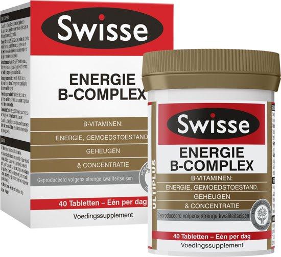 Swisse multivitaminen ENERGIE B-COMPLEX - vitaminen