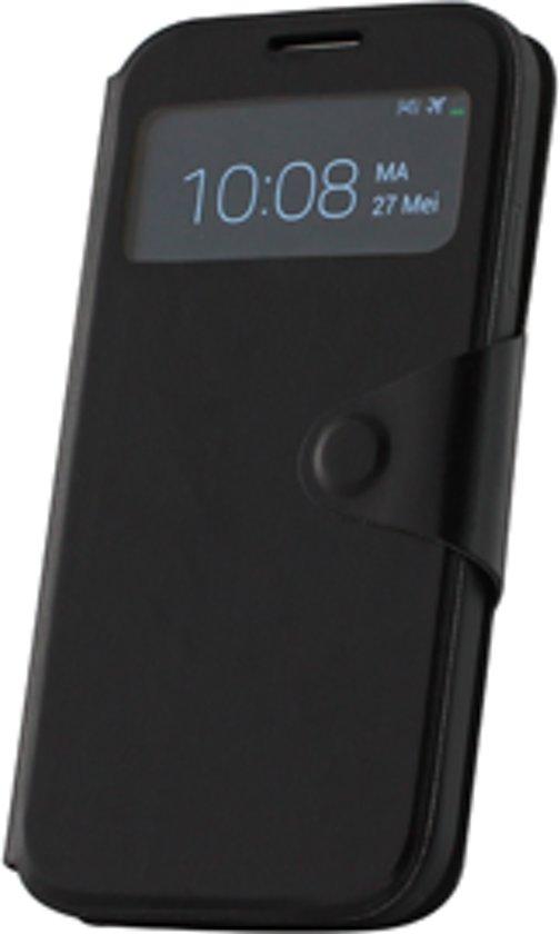 Samsung Galaxy S4 VE Window hoesje Zwart