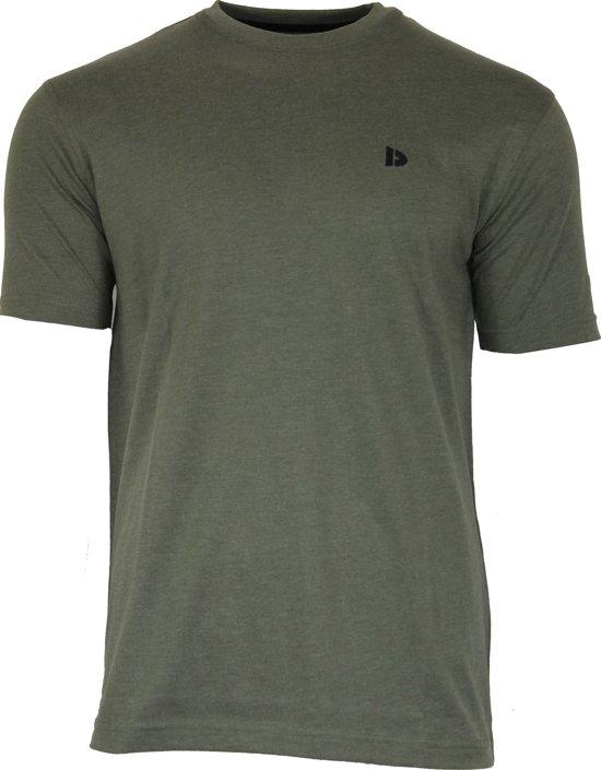 Donnay T-shirt - Sportshirt - Heren - Maat M - Green-Marl