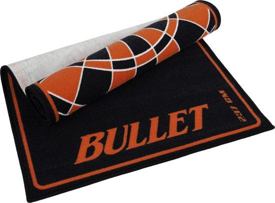 Dartmat - Bullet Rood 237x80 cm - gave mat – Dartvloerkleed