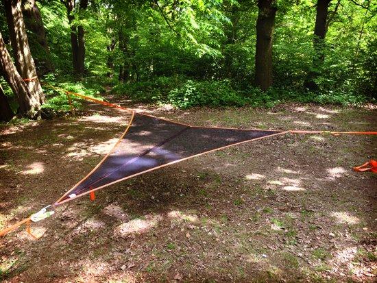 Boom Hangmat T-Mini Mesh - 2 personen - mesh