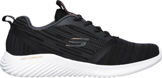Bounder Sneakers Black Skechers Maat46 Heren TgwxqdF