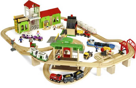 BRIO Deluxe World Treinset 33870
