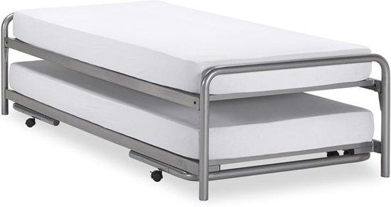 basic bed onderschuifbed doppia. Black Bedroom Furniture Sets. Home Design Ideas