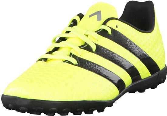 51fc288297c Adidas Ace 16.4 Turf/Kunstgras Kinder Voetbalschoen - Geel/Zwart - Maat 30