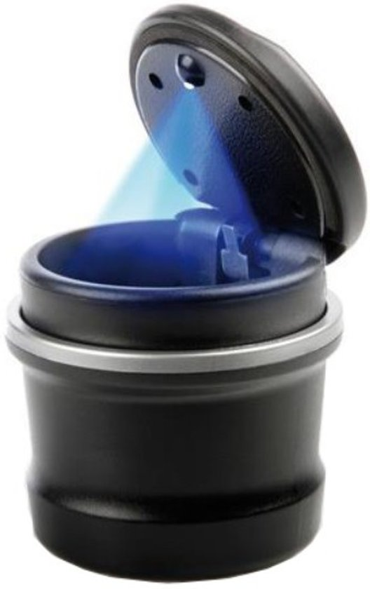 auto asbak met ledverlichting asbak voor in de bekerhouder blauwe led verlichting