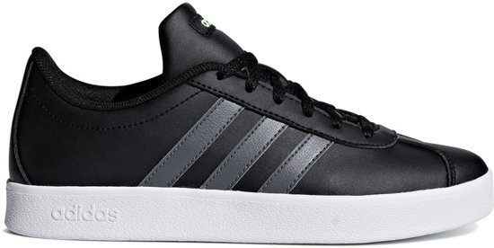 adidas VL Court 2.0 Kids Schoenen zwart 35.5