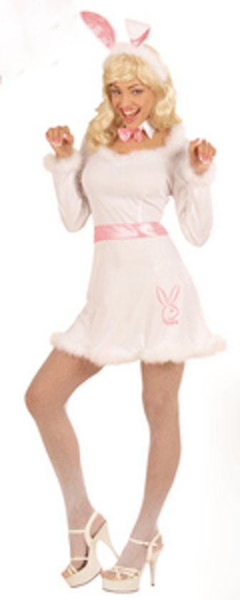 Bunny jurkje dames wit 38 (m)