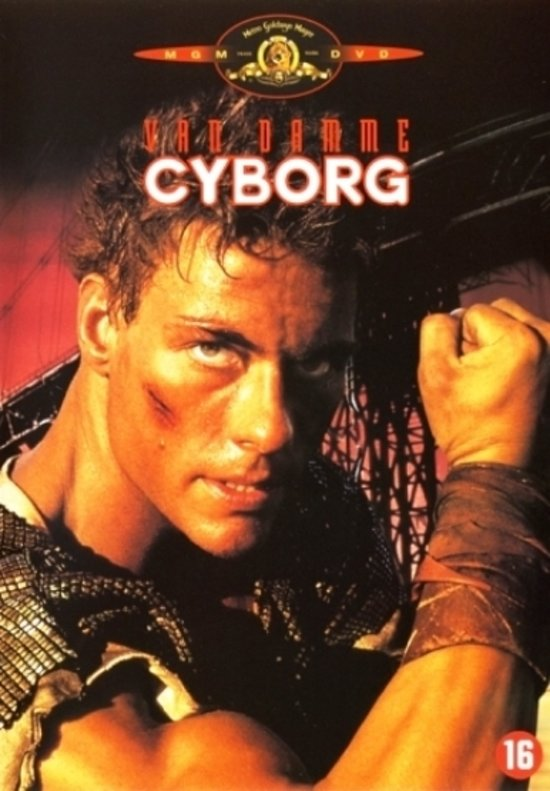 Cover van de film 'Cyborg'