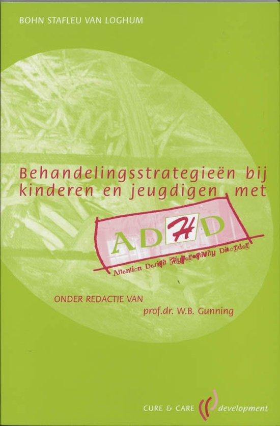 CCD reeks Behandelingsstrategieen bij kinderen en jeugdigen met ADHD