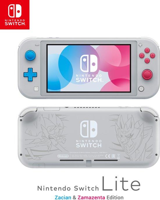 Afbeelding van Nintendo Switch Lite Zacian & Zamazenta editie