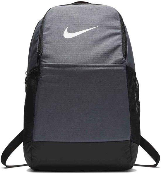 Nike  Brsla M  - 9.0 Unisex Sporttas - Flint Grey/Black/(White)