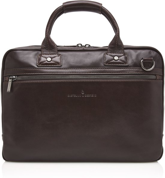 24e49114e0a Castelijn & Beerens Firenze Business Laptop tas 15,6'' – Laptoptas – Mocca