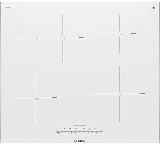 Bosch PIF672FB1E Ingebouwd Zone van inductiekookplaat Roestvrijstaal, Wit kookplaat