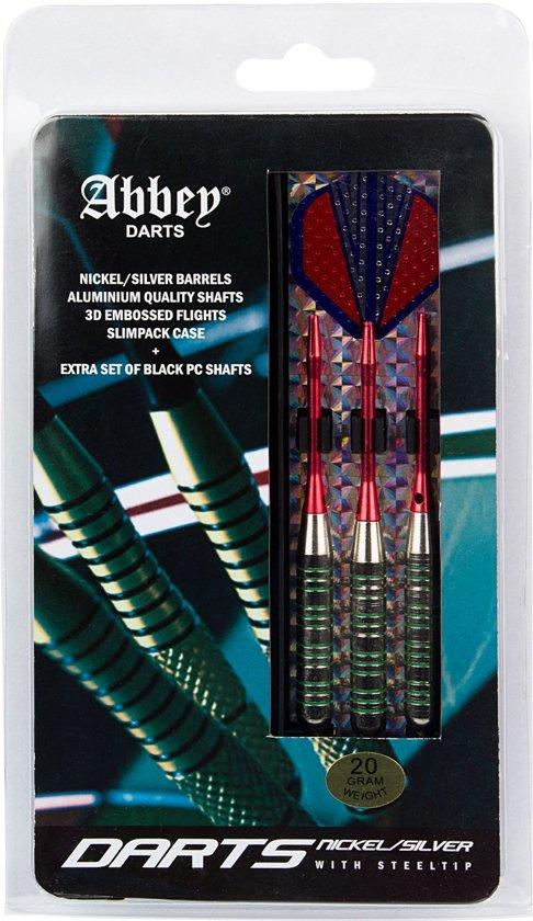 Abbey Darts Darts - Nickel/Silver - 22