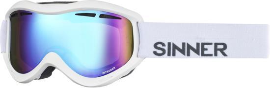 Sinner Intruder - Skibril - Volwassenen - Wit/Blauw