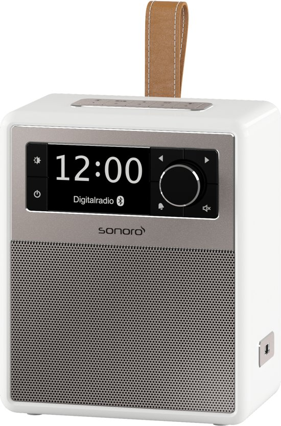 Sonoro EASY - Draagbare DAB+ Radio + Bluetooth - Wit