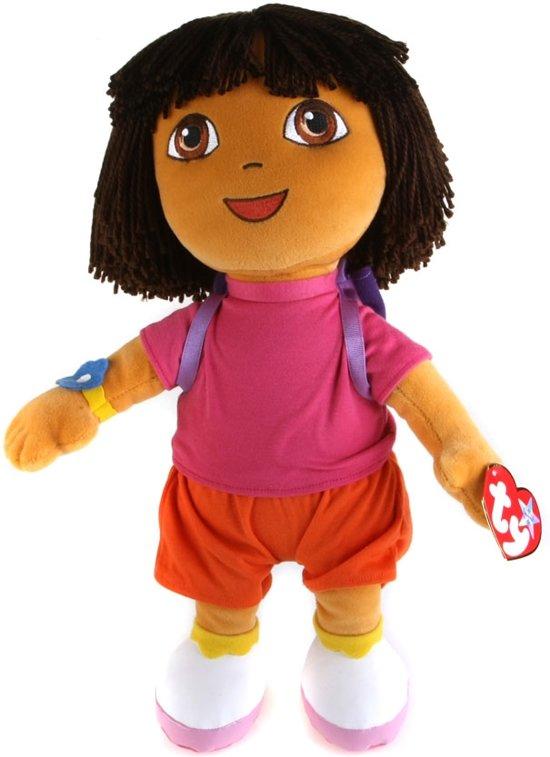 TY Dora the Explorer beanie knuffel 18cm