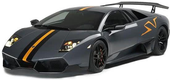 Murciélago LP 670-4 SV China Limited Edition scale 1:24 (Metallic Grey)
