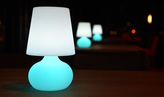 bol.com | RRJ LED Draadloze Tafellamp voor Buiten - RGB met ...