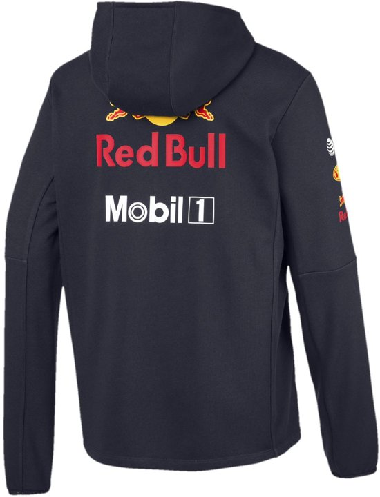Red Bull Racing Official Hooded Sweat Jacket XS