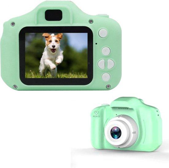 Afbeelding van Roxiq Kinder Camera KC1 Groen – Digitale camera – LCD scherm – Fototoestel voor kinderen speelgoed