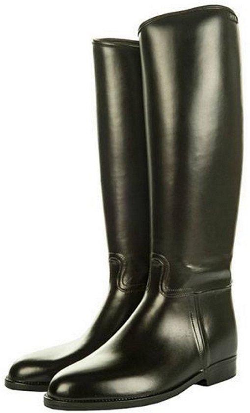 Rijlaars -dames standaard- met elastiek zwart 39
